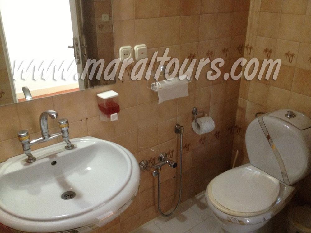 سرویس بهداشتی اتاقها در هتل نیاوران تهران
