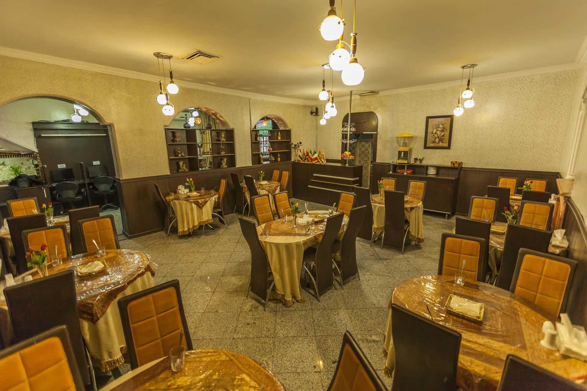 نمای رستوران هتل سعدی
