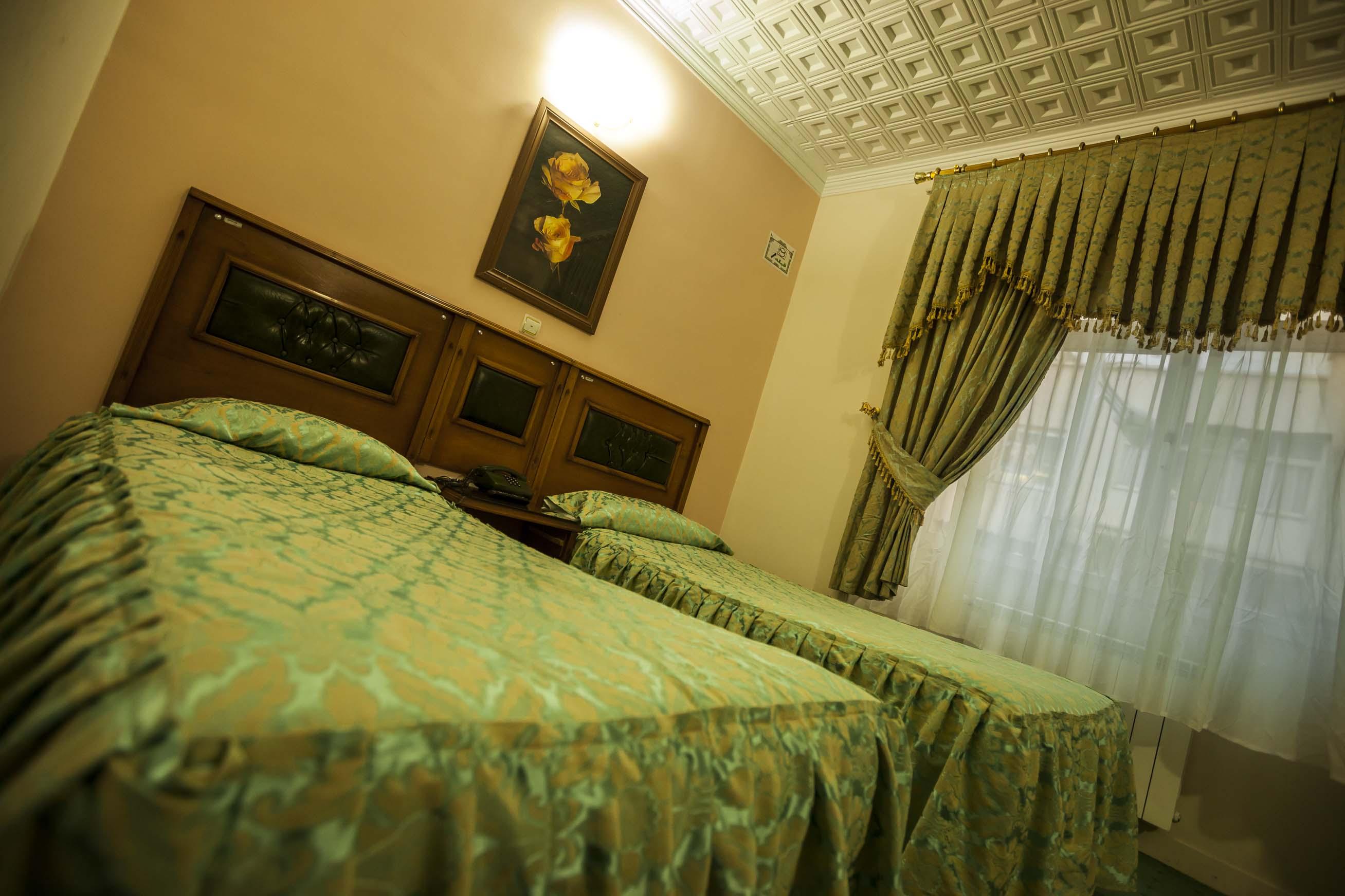 نمای اتاق هتل سعدی