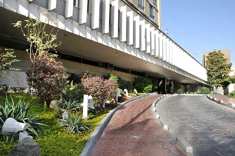 نمایی از هتل همای تهران