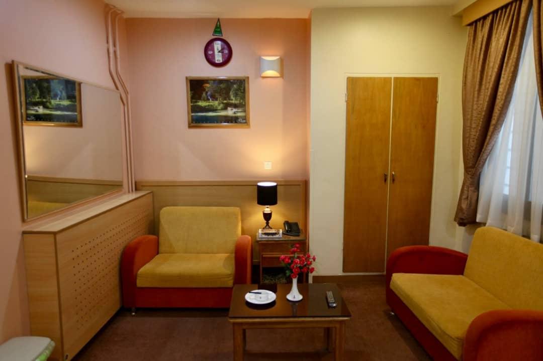 نمایی از هتل ساسان شیراز