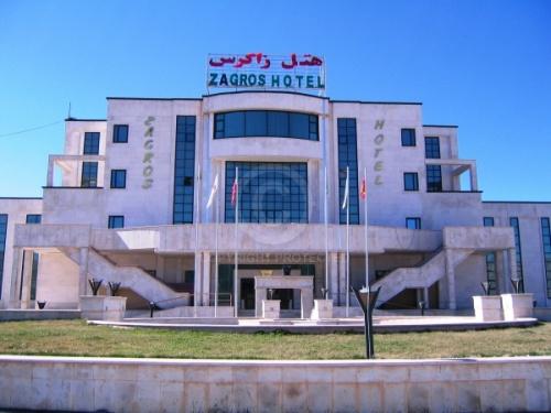 نمایی از هتل زاگرس ایلام