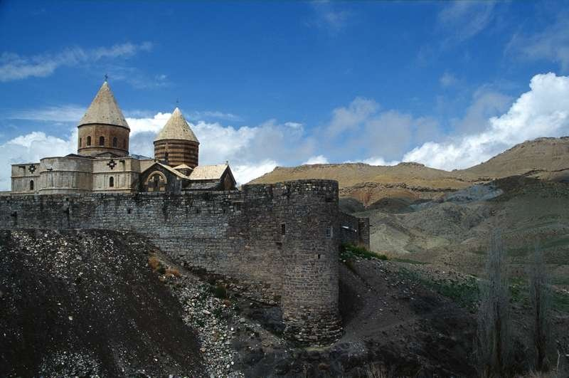 The Saint Thaddeus Monastery is an ancient Armenian monastery located in the mountainous area of Iran's West Azerbaijan Province, about 20 kilometers from the town of Maku.