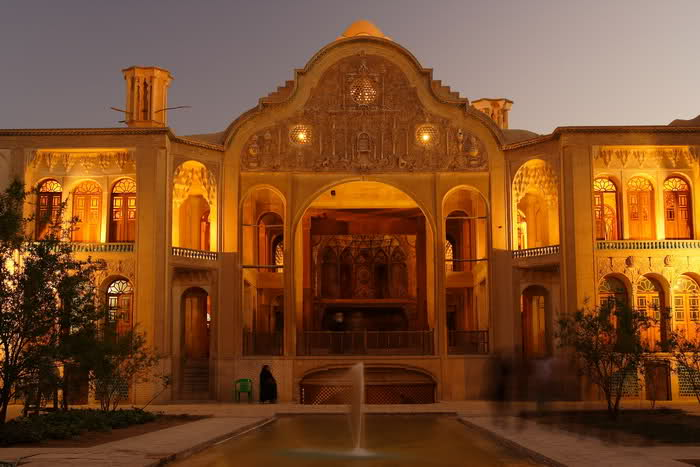 The Borujerdi House is a historic house in Kashan, Iran.