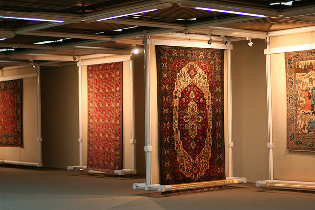Located in Tehran, beside Laleh Park, and founded in 1976, the Carpet Museum of Iran exhibits a variety of Persian carpets from all over Iran, dating from the 18th century to the present.