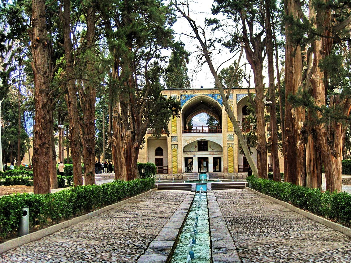 Fin Garden, or Bagh-e Fin, located in Kashan, Iran, is a historical Persian garden. It contains Kashan's Fin Bath, where Amir Kabir, the Qajarid chancellor, was murdered by an assassin sent by King Nasereddin Shah in 1852. Completed in 1590, the Fin Garden is the oldest extant garden in Iran. 