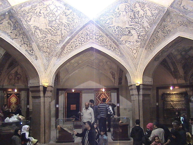 Vakil Bath is an old public bath in Shiraz, Iran. It was a part of the royal district constructed during Karim Khan Zand's reign, which includes Arg of Karim Khan, Vakil Bazaar, Vakil Mosque and many administrative buildings.The monument is inscribed with the number 917 on the list of national works of Iran.