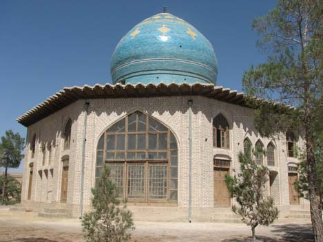 Preparedness and Nain Nain related to the Qajar period, these old family tomb garden, Mushir al-Dawla located and the effect on 4 November 1365, registration number 1719 has been registered as a national monument Iran