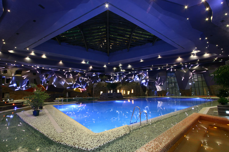 Asia's most unique indoor pool in Isfahan