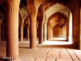 The Vakil Mosque  is a mosque in Shiraz, southern Iran, situated to the west of the Vakil Bazaar next to its entrance. This mosque was built between 1751 and 1773, during the Zand period; however, it was restored in the 19th century during the Qajar period.