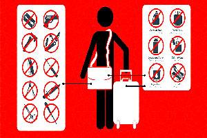 اشیاء ممنوعه در پرواز