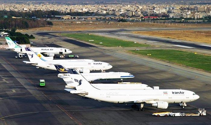 پرواز های فردگاه بین المللی مهرآباد