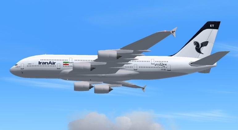 افزایش بار مجاز مسافر در پروازهای بین المللی ایران ایر