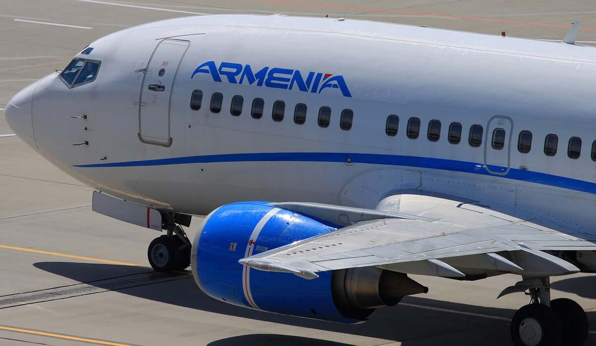 برقراری پرواز ایر آرمنیا در مسیر تهران - ایروان