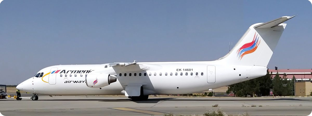 پرواز در مسیر ایروان - تهران - ایروان آرمنیا ایرویز