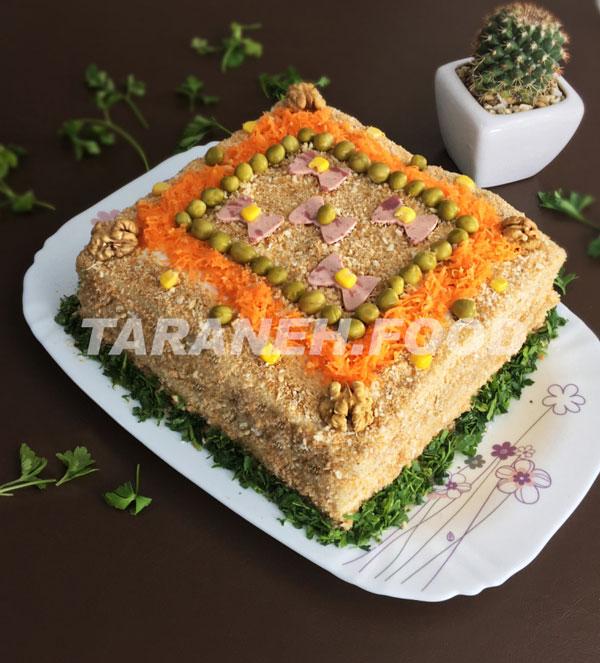 طرز تهیه کیک مرغ