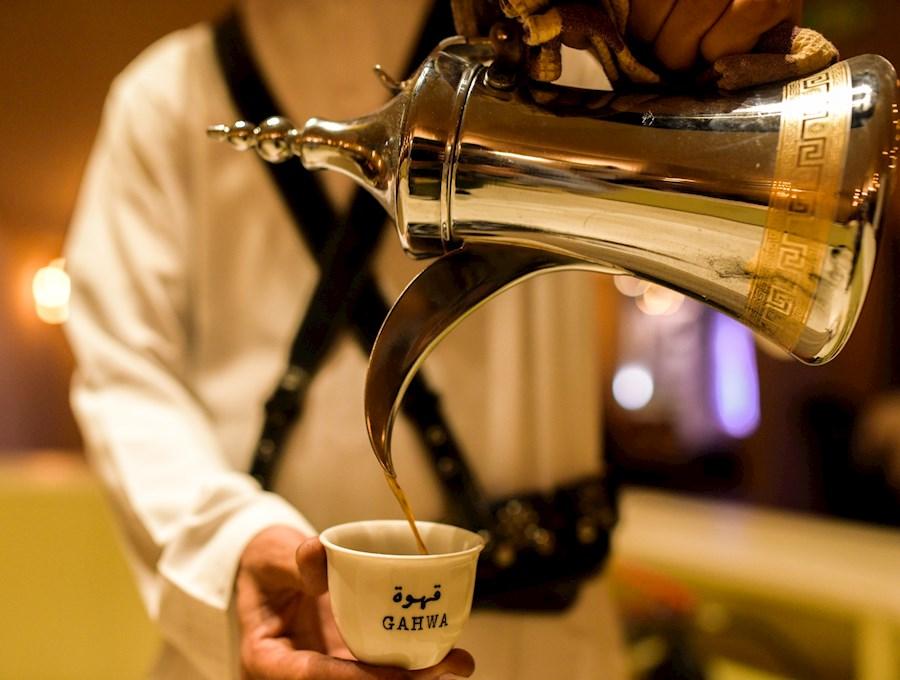 مراسم قهوه خوری و دله قهوه