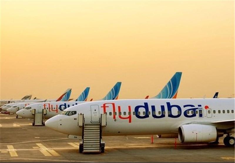 تغییر برنامه پروازی هواپیمایی فلای دبی (تهران - دبی)