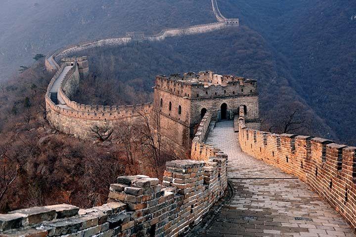 دیوار چین، اژدهای زمینی