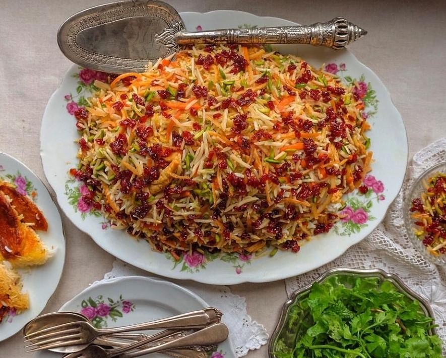 هویج پلو مجلسی تبریزی
