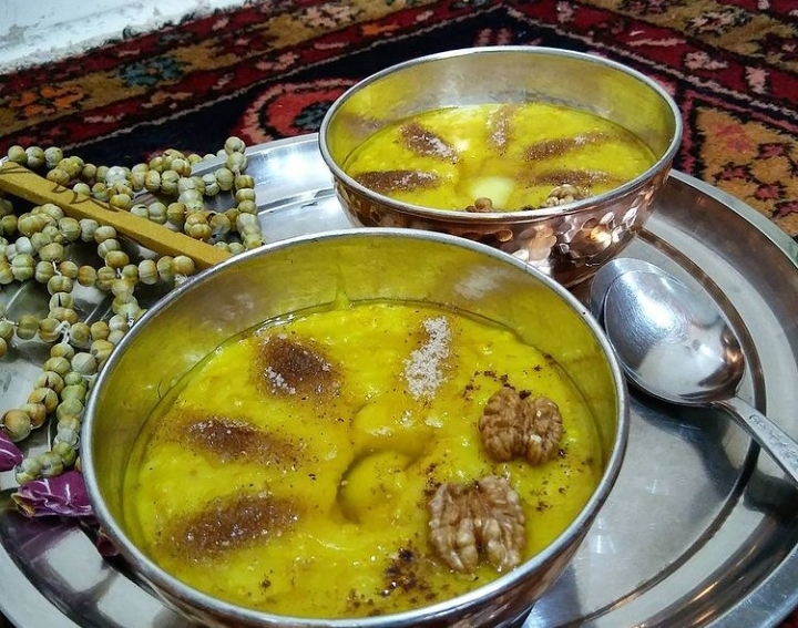 خشیل اردبیل، غذای محلی ایرانی