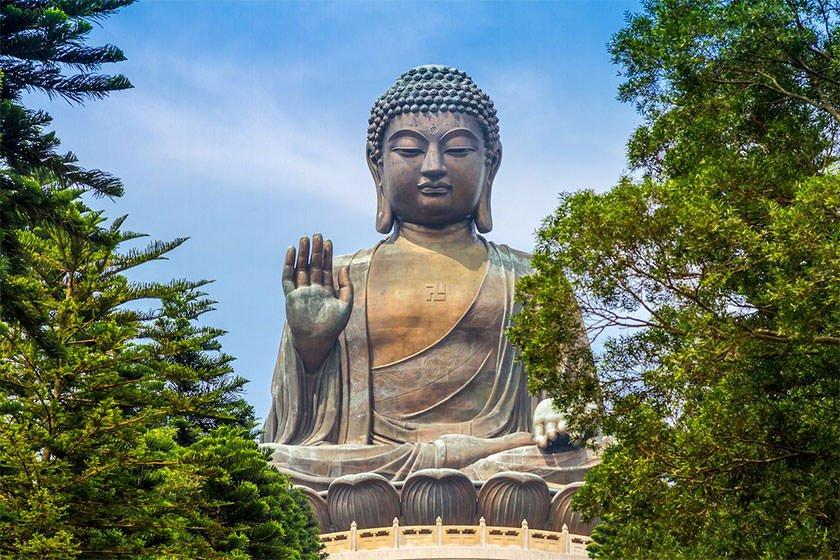 نماد هنگ کنگ، مجسمه ی بودای تیان تان